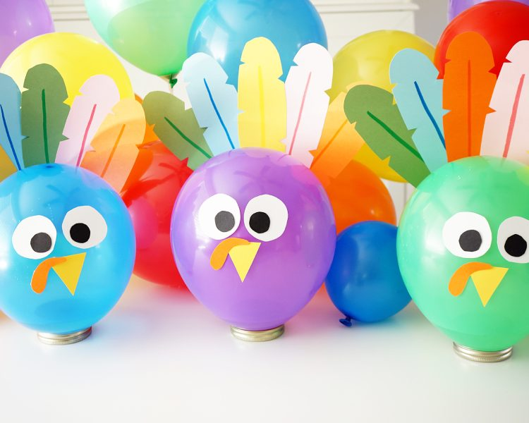 Cool Crafts with balloons party ideas