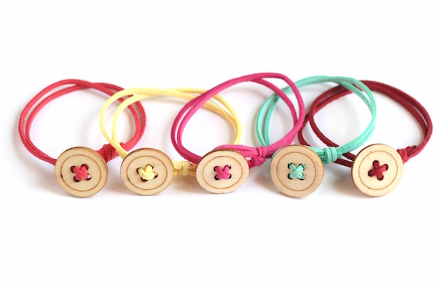 Button Bracelets For Kids.