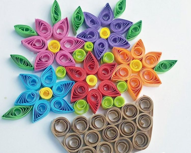 Amazing DIY Craft Quilling Projects Using Paper