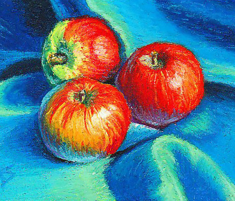 Oil Painting - Fruits