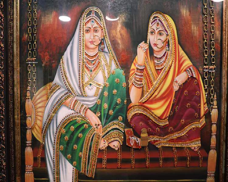 Tanjore Paintings: Its an Identity